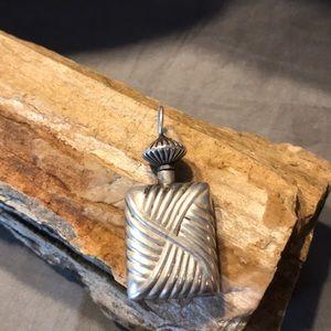 Sterling Silver Bottle Pendant